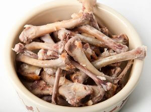Chicken bones are a great source of calcium, which is used by orchids for maintaining their structure.