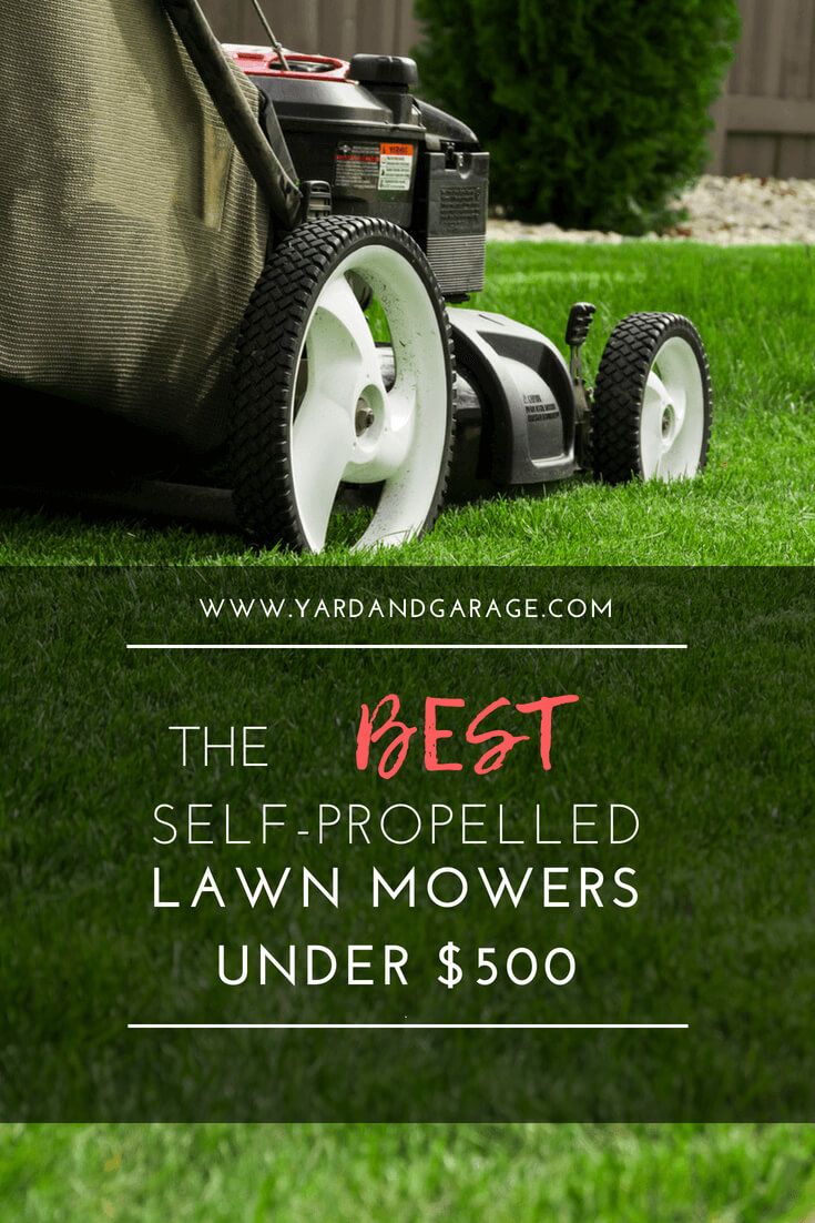 Find the perfect self-propelled lawn mower.