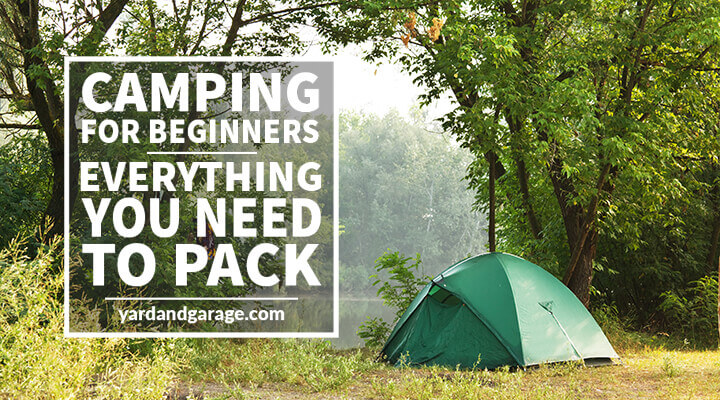 Beginner Camping Pack List