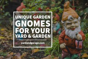 list of unique and cool garden gnomes