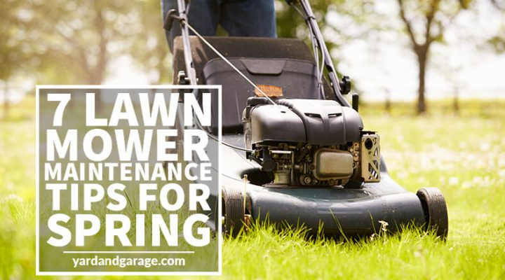 lawn mower maintenance tips spring