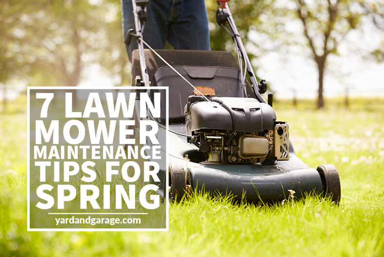 lawn mower maintenance tips spring