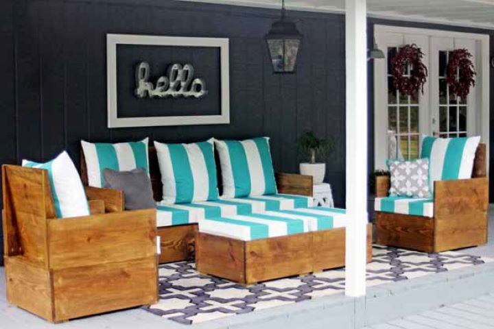 Outdoor Seating DIY