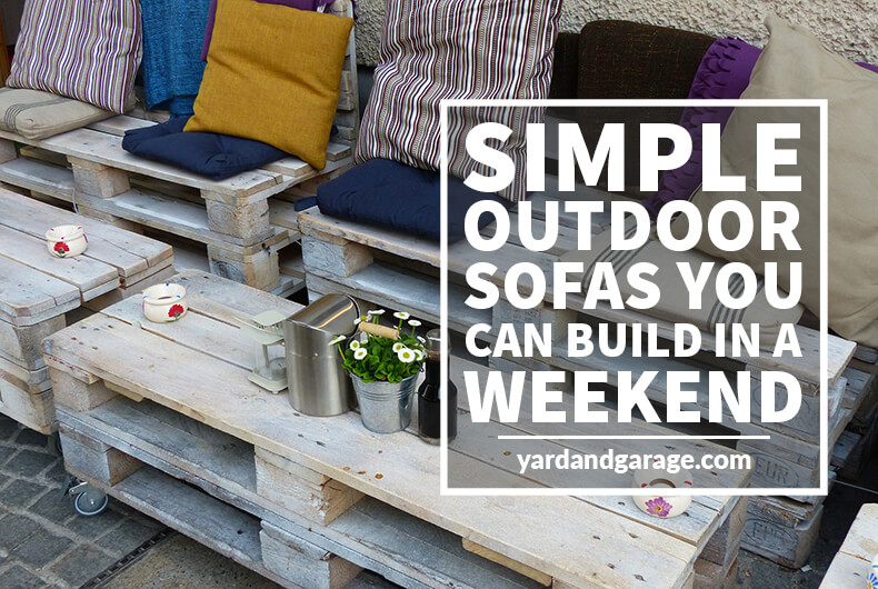 10 Simple Outdoor Sofas You Can Build For Your Deck and Patio