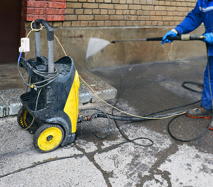 electric pressure cleaner