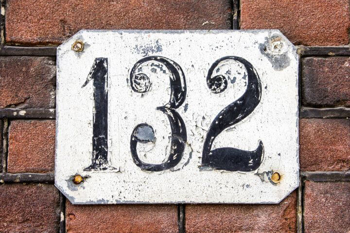 home address numbers