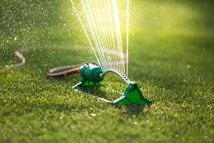 manual grass sprinkler