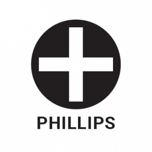 Phillips screw outline