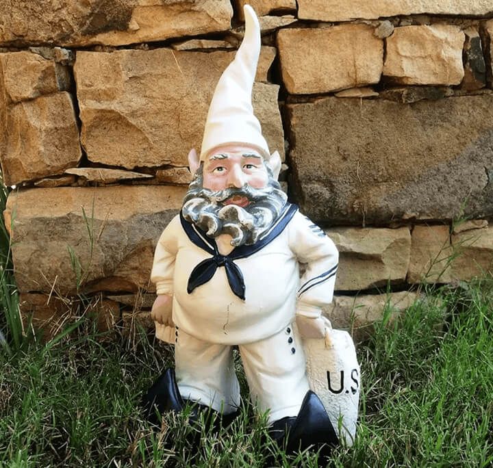 US Navy gnome