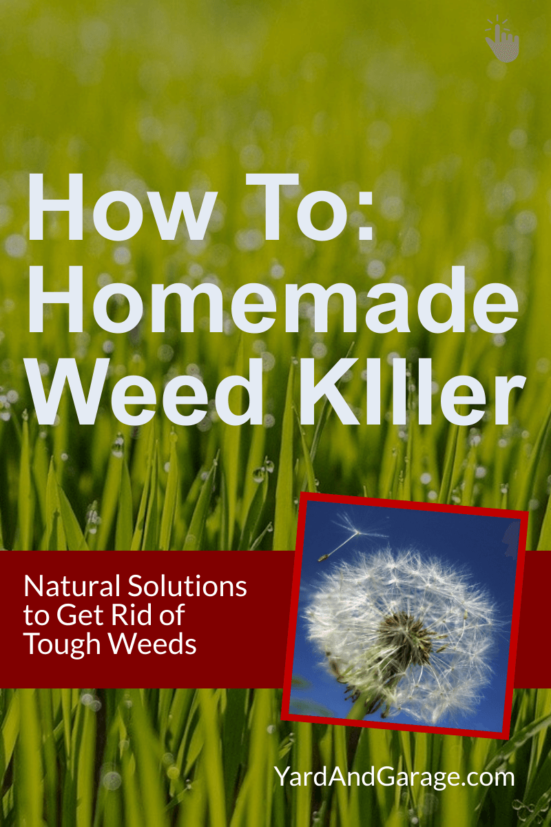 Make your own weed killer at home