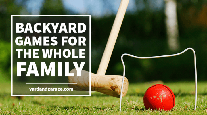 Fun backyard family games
